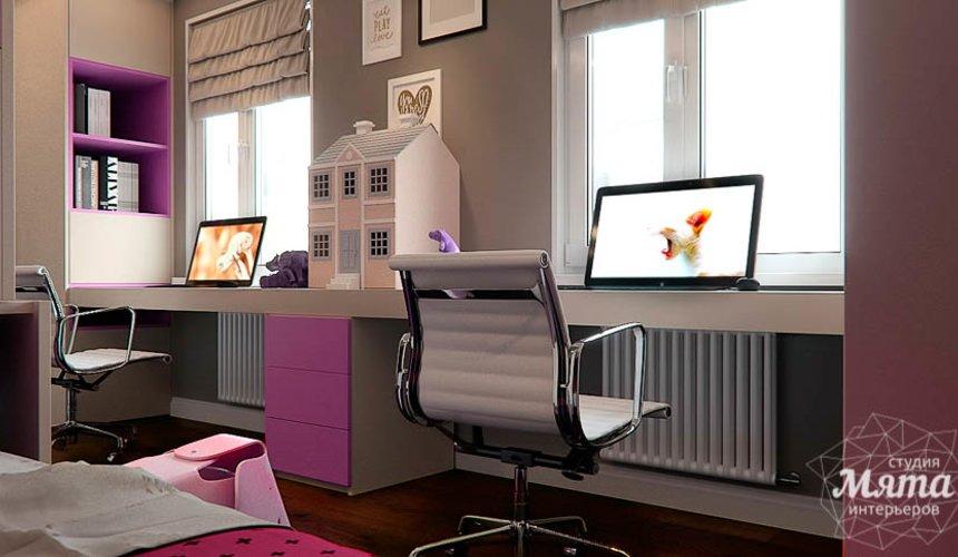 Дизайн интерьера трехкомнатной квартиры по ул. Шейнкмана 88 19