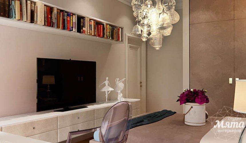 Дизайн интерьера четырехкомнатной квартиры в Новосибирске 13