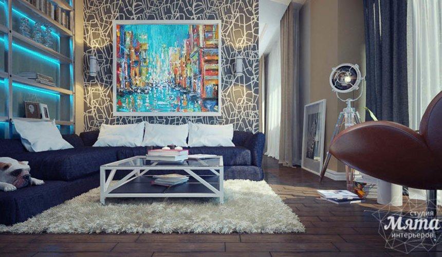 Дизайн интерьера коттеджа в п. Александрия 22