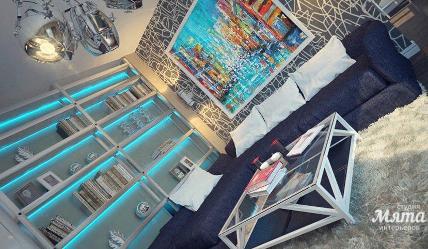Дизайн интерьера коттеджа в п. Александрия 23