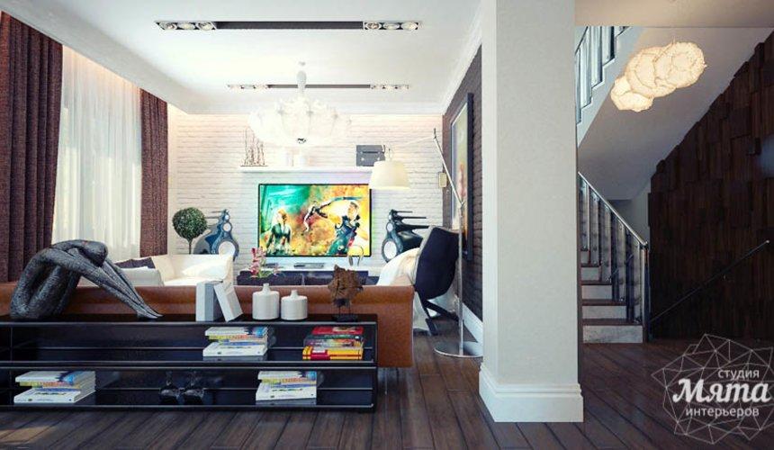 Дизайн интерьера коттеджа в п. Александрия 40
