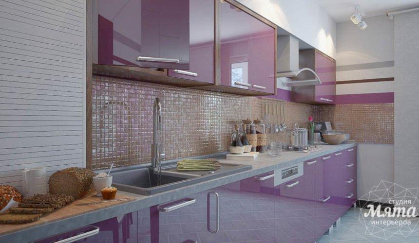 Дизайн интерьера трехкомнатной квартиры Шейнкмана 121 11