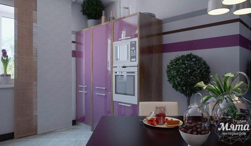 Дизайн интерьера трехкомнатной квартиры Шейнкмана 121 13