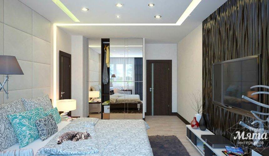 Дизайн интерьера трехкомнатной квартиры Шейнкмана 121 16