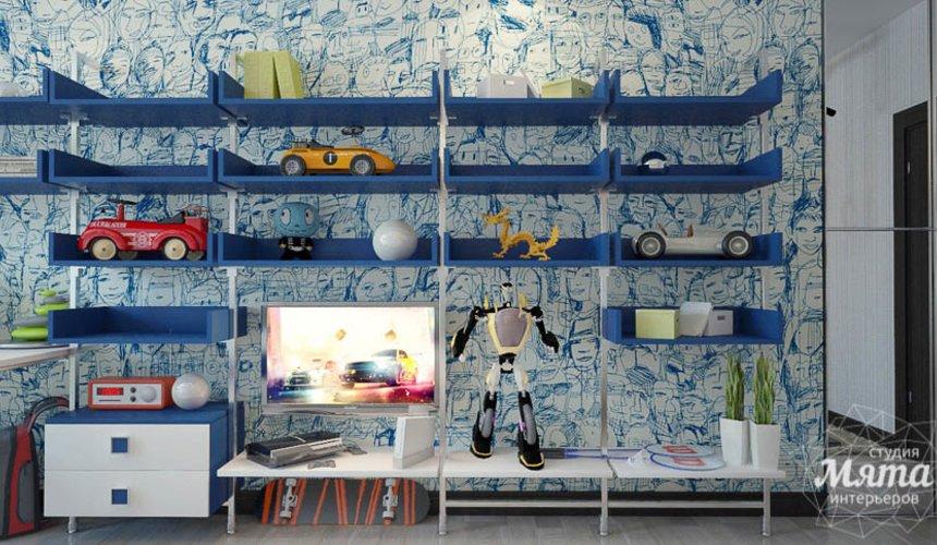 Дизайн интерьера трехкомнатной квартиры Шейнкмана 121 24