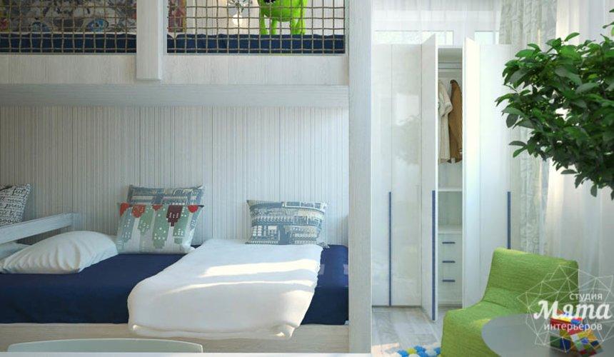 Дизайн интерьера трехкомнатной квартиры Шейнкмана 121 25