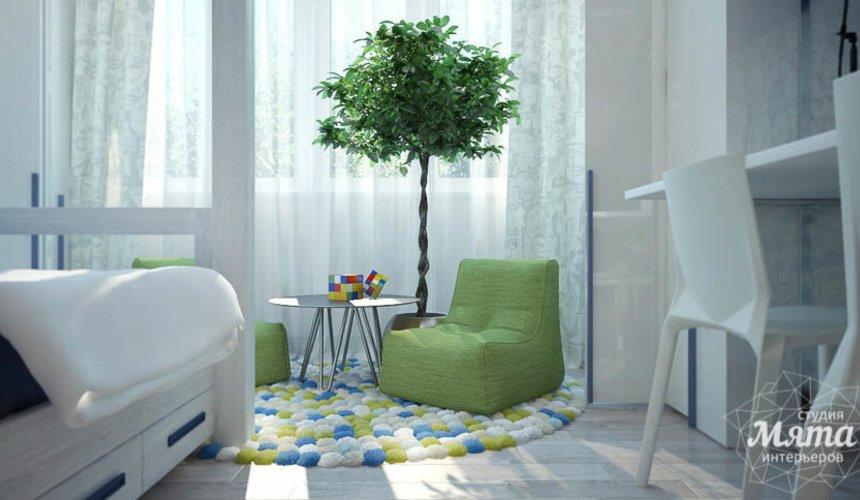 Дизайн интерьера трехкомнатной квартиры Шейнкмана 121 27