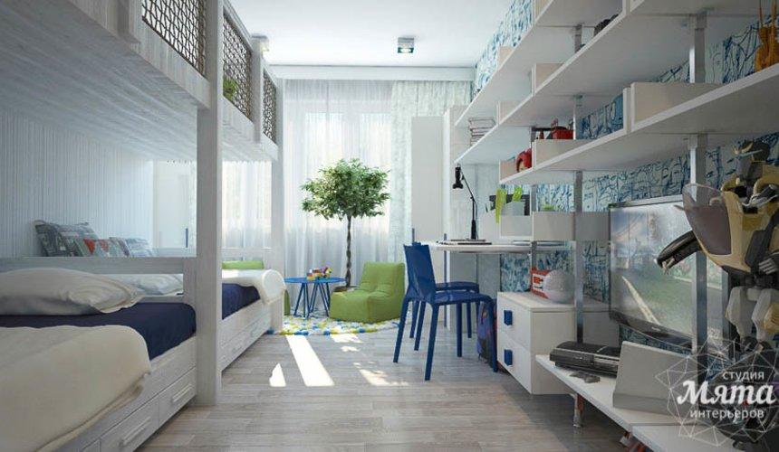 Дизайн интерьера трехкомнатной квартиры Шейнкмана 121 29