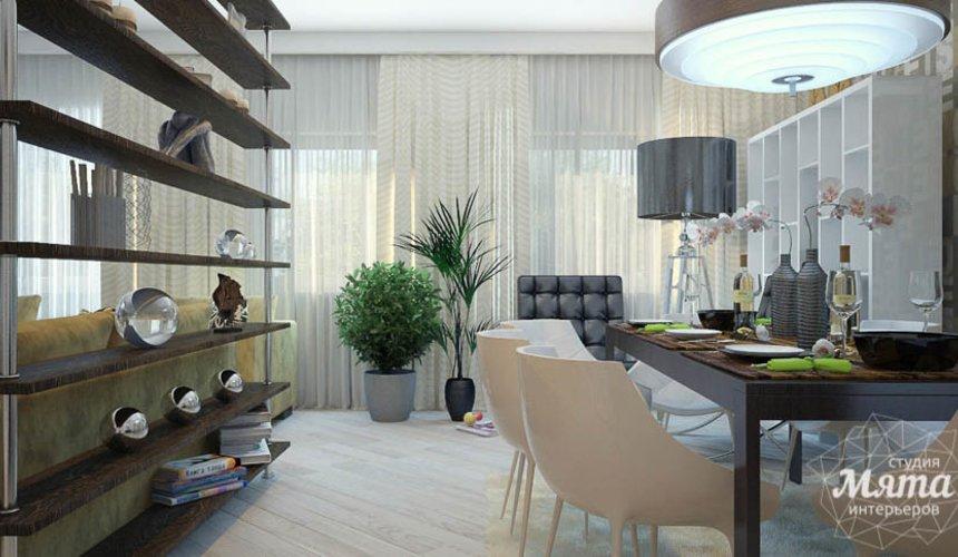 Дизайн интерьера трехкомнатной квартиры Шейнкмана 121 37