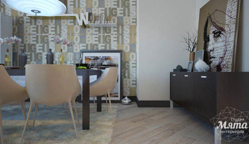 Дизайн интерьера трехкомнатной квартиры Шейнкмана 121 39