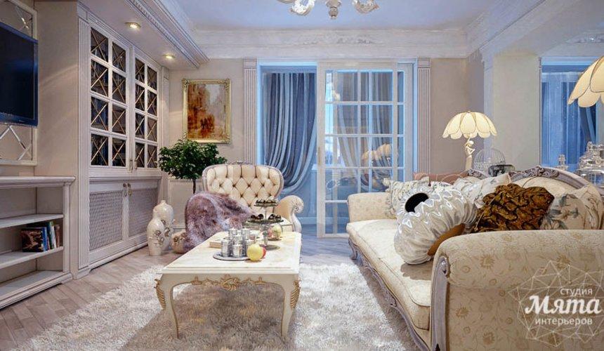 Дизайн интерьера четырехкомнатной квартиры в Тюмени 3