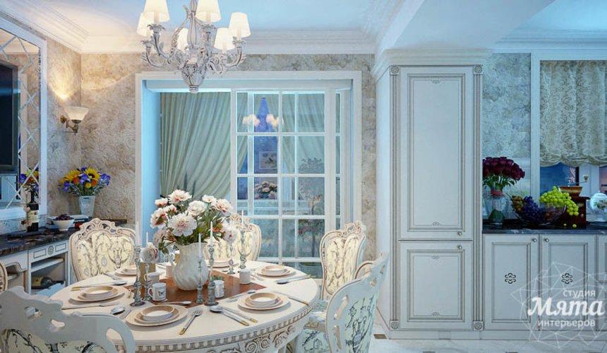 Дизайн интерьера четырехкомнатной квартиры в Тюмени 10