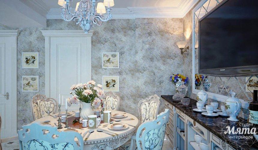 Дизайн интерьера четырехкомнатной квартиры в Тюмени 12