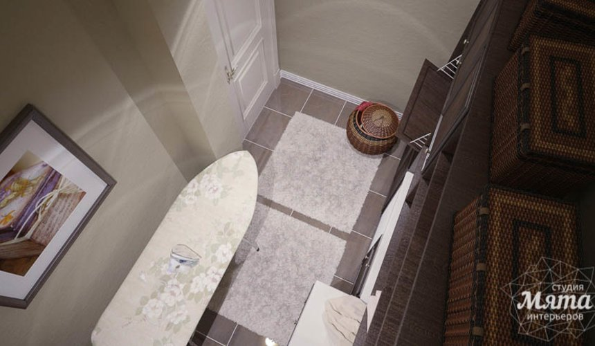 Дизайн интерьера четырехкомнатной квартиры в Тюмени 15