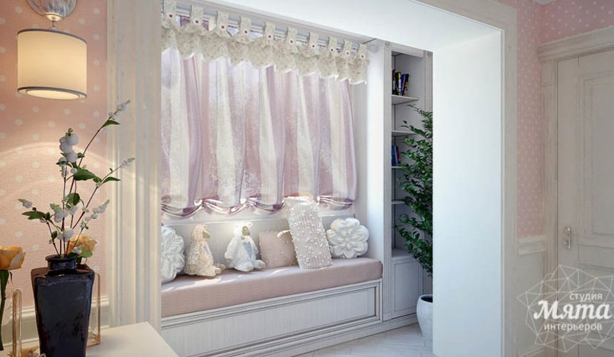 Дизайн интерьера четырехкомнатной квартиры в Тюмени 22
