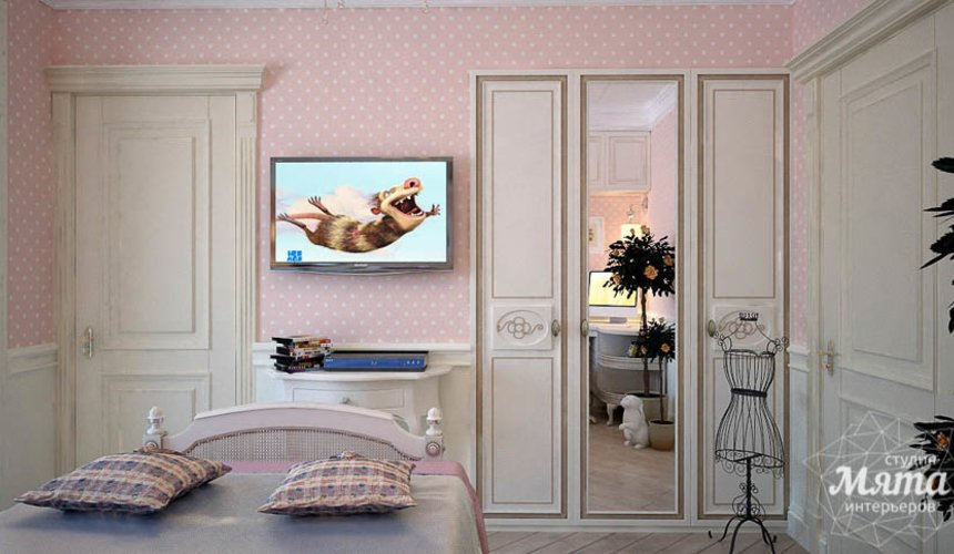 Дизайн интерьера четырехкомнатной квартиры в Тюмени 24
