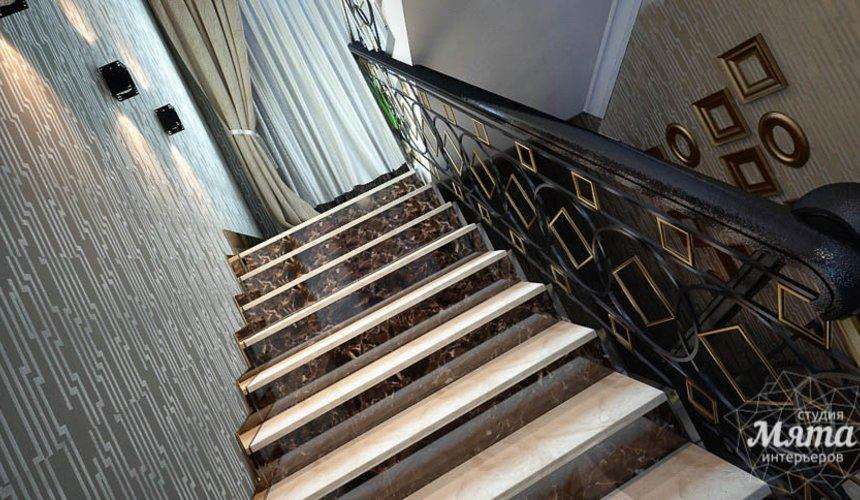 Дизайн интерьера коттеджа в Новосибирске 14