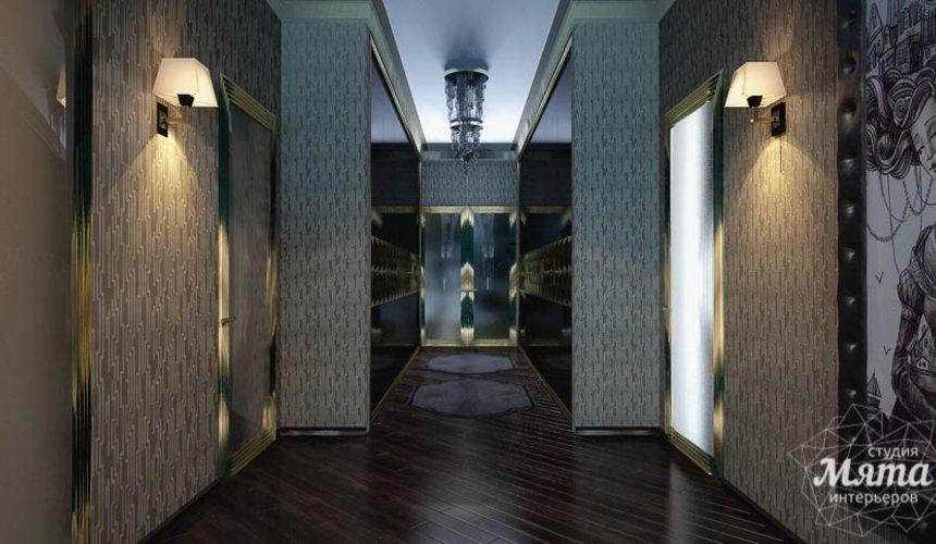 Дизайн интерьера коттеджа в Новосибирске 20