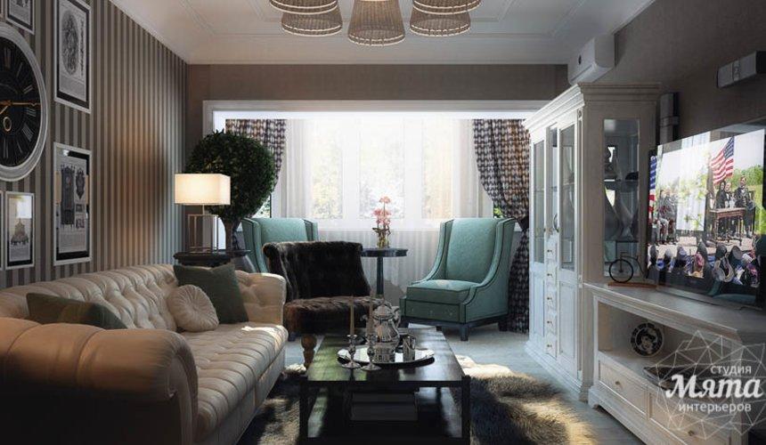 Дизайн интерьера двухкомнатной квартиры по ул. 8 марта 188 9