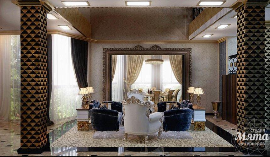 Дизайн интерьера коттеджа в Краснодаре 11
