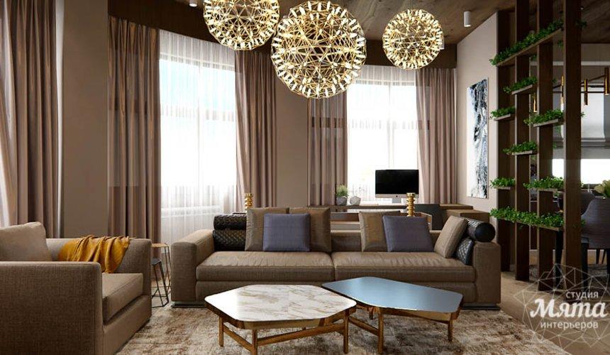 Дизайн интерьера двухкомнатной квартиры в Сочи 3