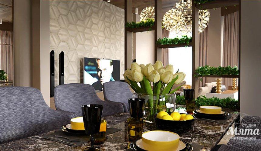 Дизайн интерьера двухкомнатной квартиры в Сочи 4