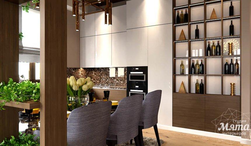 Дизайн интерьера двухкомнатной квартиры в Сочи 6