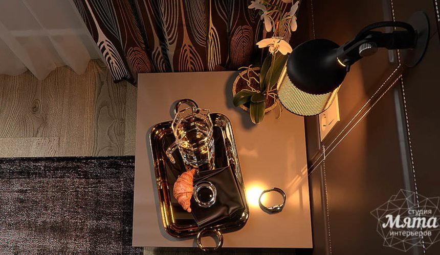 Дизайн интерьера двухкомнатной квартиры в Сочи 20