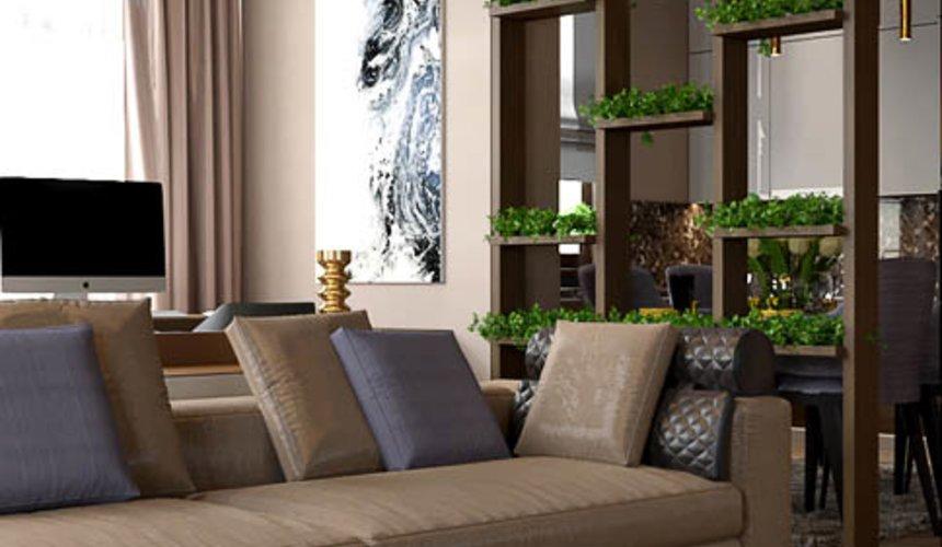 Дизайн интерьера двухкомнатной квартиры в Сочи 14