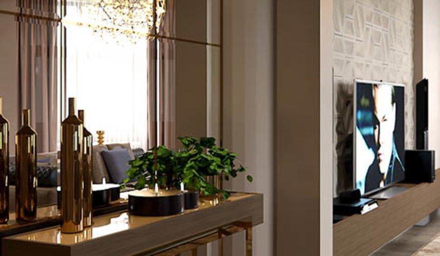 Дизайн интерьера двухкомнатной квартиры в Сочи 12