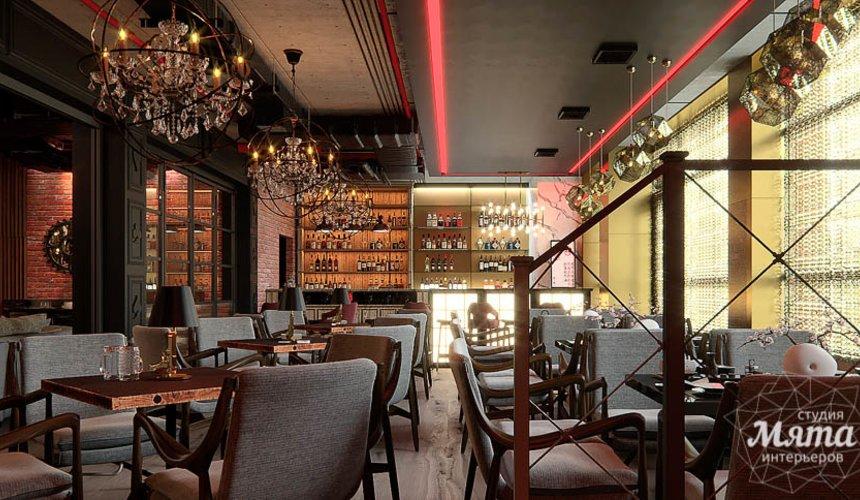 Дизайн интерьера кафе в Сочи  3