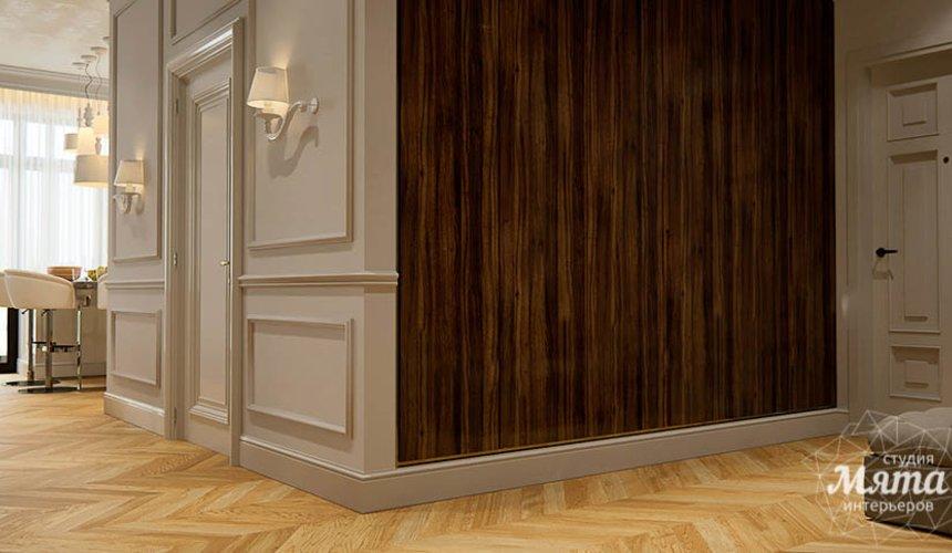 Дизайн интерьера четырехкомнатной квартиры в Новосибирске 17