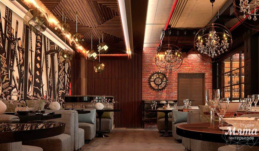 Дизайн интерьера кафе в Сочи  4
