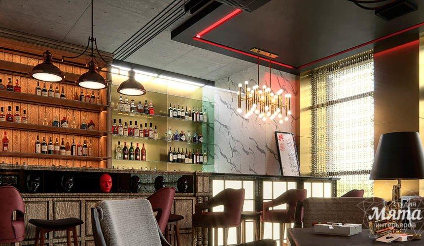 Дизайн интерьера кафе в Сочи  15