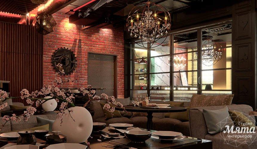 Дизайн интерьера кафе в Сочи  17