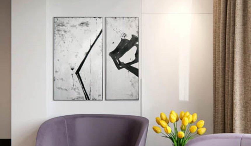 Дизайн интерьера двухкомнатной квартиры в Москве 8