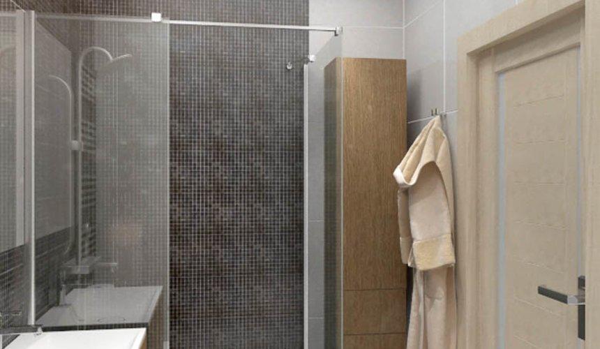 Дизайн интерьера однокомнатной квартиры в ЖК Крылов 16