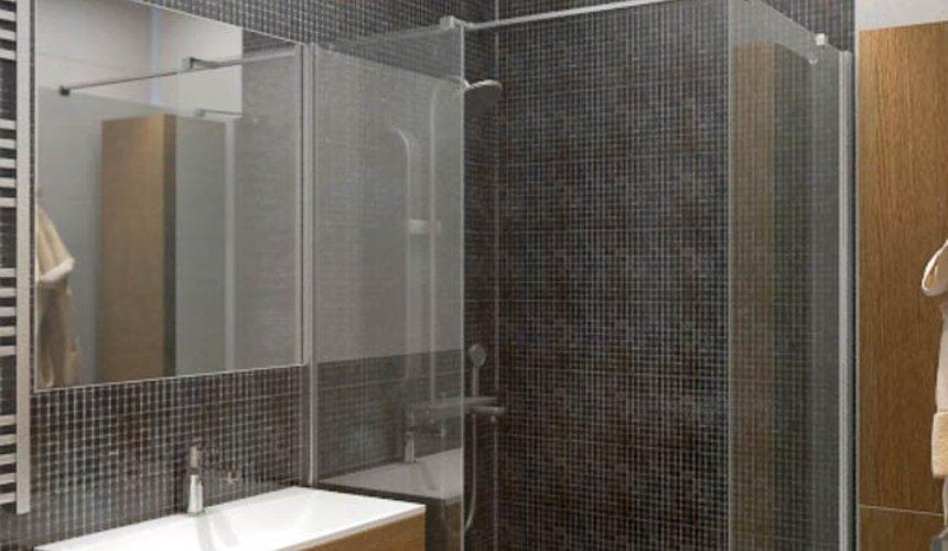 Дизайн интерьера однокомнатной квартиры в ЖК Крылов 17