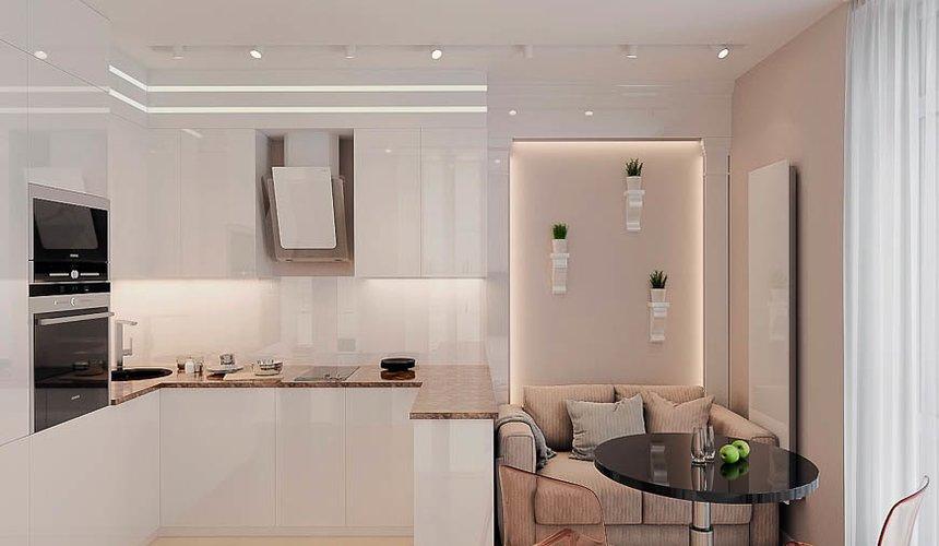 Дизайн интерьера однокомнатной квартиры в ЖК Крылов (1 очередь) 5
