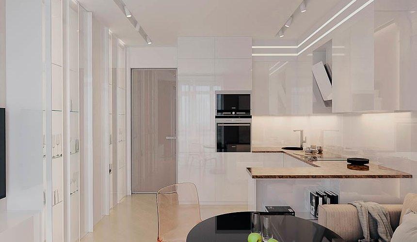 Дизайн интерьера однокомнатной квартиры в ЖК Крылов (1 очередь) 6