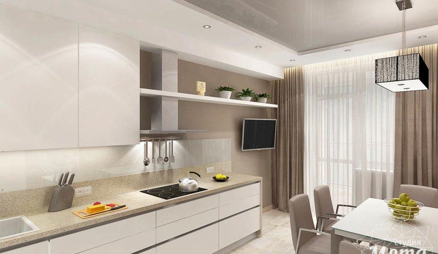 Дизайн интерьера трехкомнатной квартиры по ул. Куйбышева 21 10