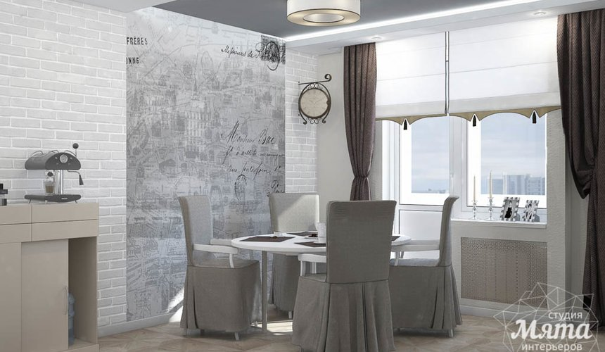 Дизайн интерьера трехкомнатной квартиры по ул. 8 Марта 194 6