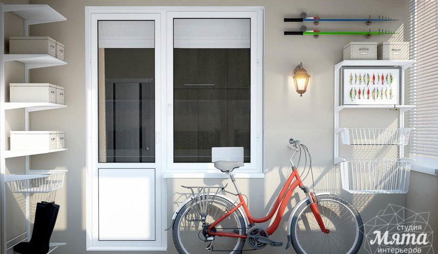 Дизайн интерьера трехкомнатной квартиры по ул. 8 Марта 194 17