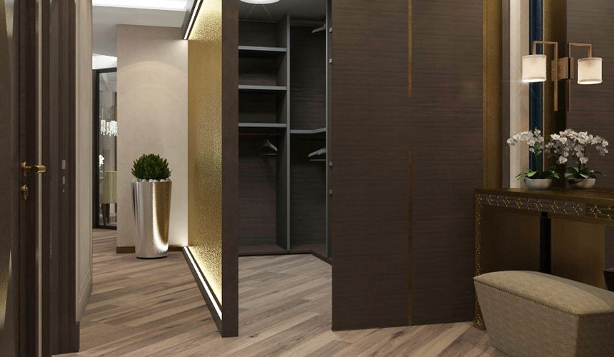 Дизайн интерьера и ремонт трехкомнатной квартиры по ул. Кузнечная 81 85