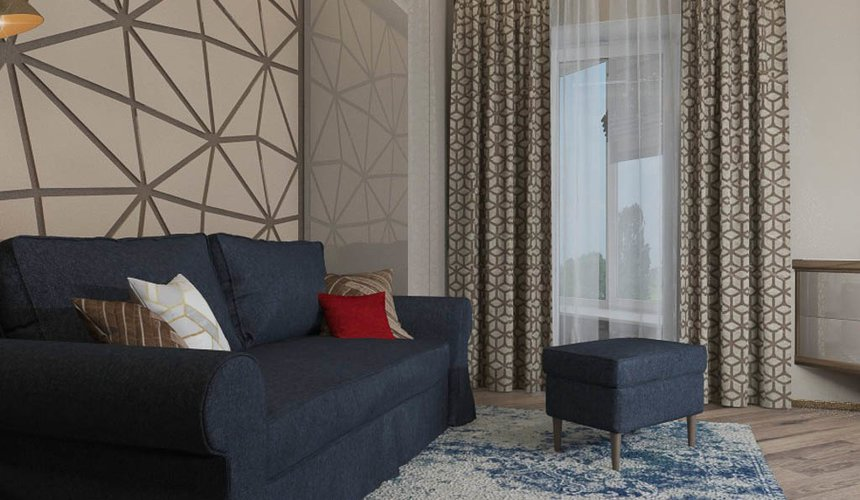 Дизайн интерьера и ремонт трехкомнатной квартиры по ул. Кузнечная 81 77