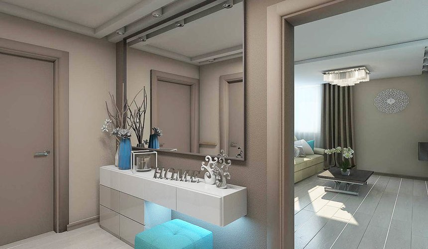 Дизайн интерьера двухкомнатной квартиры в Верхней Пышме по Успенскому проспекту 113Б 16