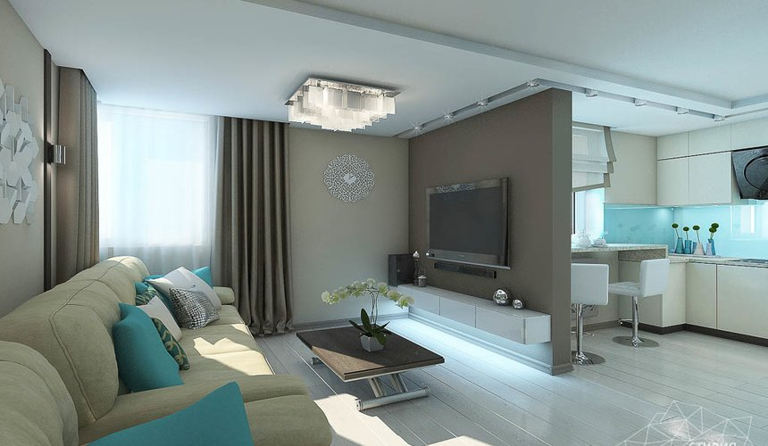 Дизайн интерьера двухкомнатной квартиры в Верхней Пышме по Успенскому проспекту 113Б 6