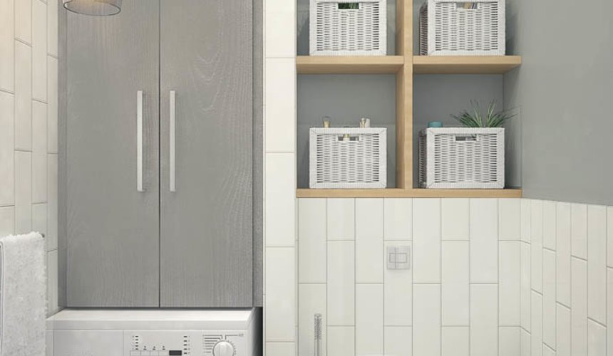 Дизайн интерьера трехкомнатной квартиры по ул. 8 Марта 194 31