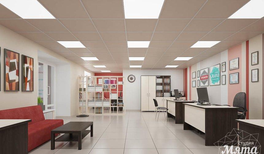 Дизайн интерьера и ремонт офиса по ул. Шаумяна 93 44