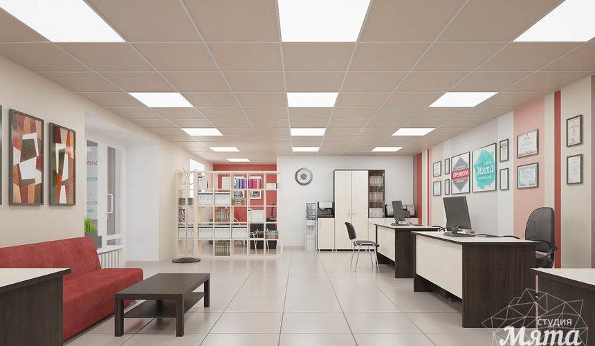 Дизайн интерьера и ремонт офиса по ул. Шаумяна 93 45